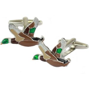 Mallard Duck Cufflinks
