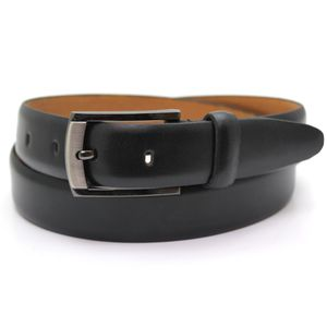 Polished Leather Suit Belt