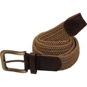 Plaited Weave Stretchy Men's Belt