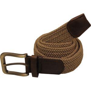 Plaited Weave Stretchy Men's Belt