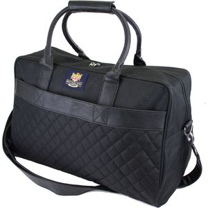 British Bag Company Regent Quilted Holdall - Black