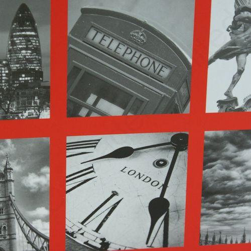 """Kenro Holiday Series London Montage Mini Photo Album- 6 Photos 6x4"""""""