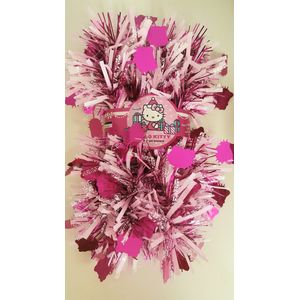 Hello Kitty Tinsel 2Mx100mm (Pink)