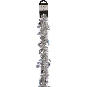 Christmas Tinsel - Silver Hearts 2m