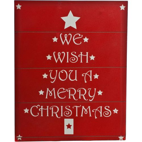 we wish you a merry christmas wooden sign crusader gifts - Merry Christmas Wooden Sign