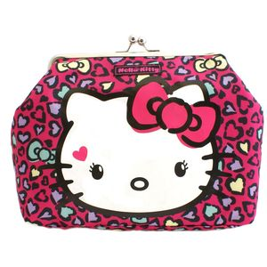 Hello Kitty Sweet Leopard Kisslock Bag