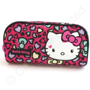 Hello Kitty Sweet Leopard Pencil Case