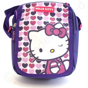 Hello Kitty Hearts Cross Body Bag