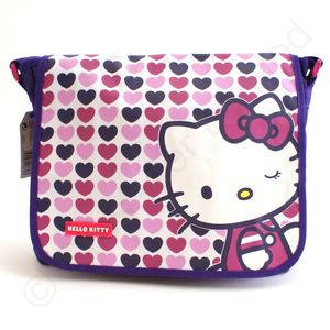 Hello Kitty Hearts Messenger Bag