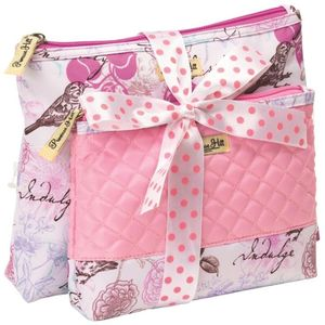 PH Love Letters 2 pc Cosmetic Bag Set