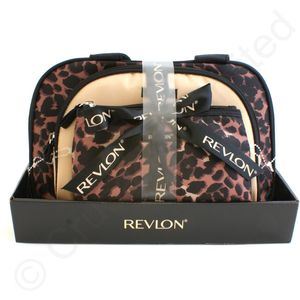 Revlon Cheetah 3 pc Duffle bag