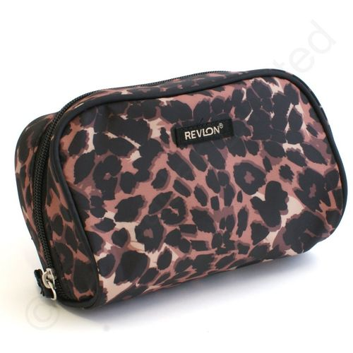Revlon Cheetah 4 Piece Deluxe Tote Set
