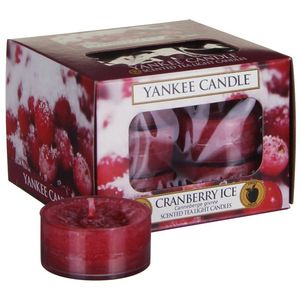 Yankee Candle Tea Lights 12 Pack - Cranberry Ice