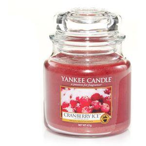 Yankee Candle Classic Medium Jar Cranberry Ice