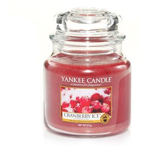 Yankee Candle Medium Jar Cranberry Ice