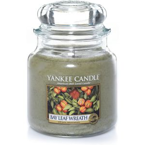 Yankee Candle Medium Jar Bay Leaf Wreath