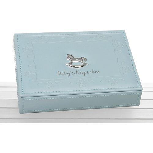 Baby Boy Memory Keepsake Box (Blue)