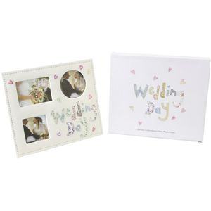 Wedding Day Multi Photo Frame