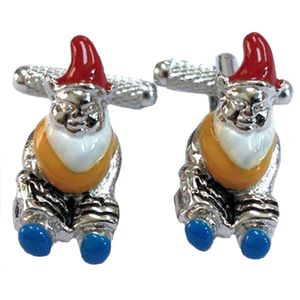 Garden Gnome Novelty Cufflinks