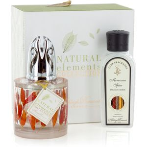 Ashleigh & Burwood Fragrance Lamp Set - Natural Elements: Red Hot Chillies