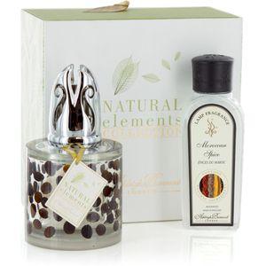 Fragrance Lamp Set Natural Elements: Coffee Bean