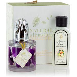 Fragrance Lamp Set Natural Elements: Orchid Petals