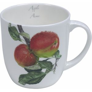 Heath McCabe Gift Boxed Fine Bone China Mug - Apple Acme