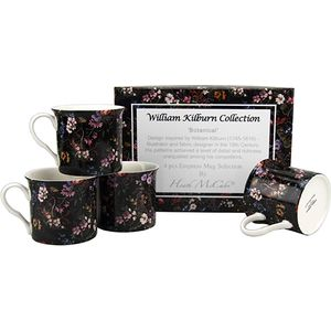 Heath McCabe William Kilburn 4 Empress Botanical Mugs