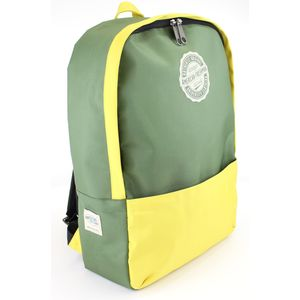 Oakland Rucksack Green & Yellow