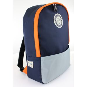Oakland Rucksack Navy & Orange