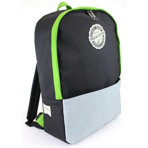 Oakland Rucksack Black & green