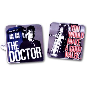 Dr Who & Dalek Cufflinks