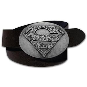 Superman Superhero PU Leather Belt