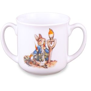 Beatrix Potter Peter Rabbit Baby Double Handle Mug