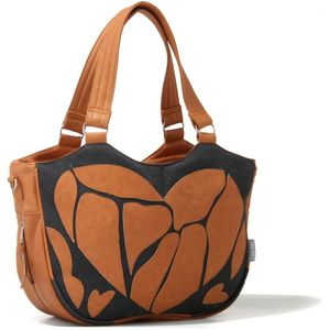 Tribal Luxury Baby Changing Bag (Passion Brown)