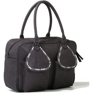 Luxury Baby Changing Bag (Saffier Anthracite)
