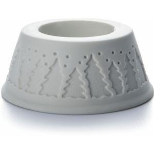 De Greef Pillar Candle Holder - Christmas Tree Design
