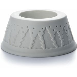 Pillar Candle Holder - Xmas Tree design