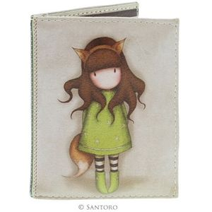 Santoro Gorjuss Travel Card Holder - The Fox