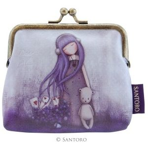 "Santoro Gorjuss 4"" Clasp Purse - Dear Alice"