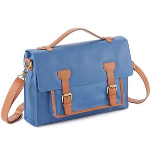 Peltex City Satchel (Blue)