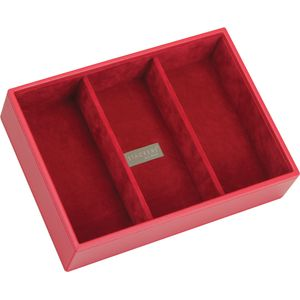 Red & Red Classic Deep 3 Section Stacker