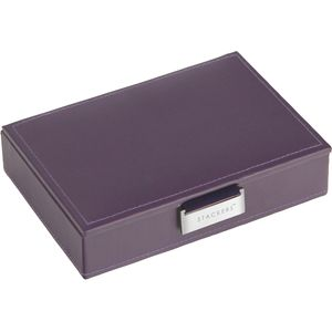 Purple & Purple Mini Lidded Stacker