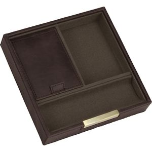 Stackers Men's Valet Square Stacker - Brown & Khaki