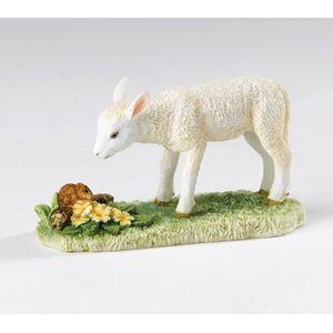 James Herriot Spring Encounter - White Lamb