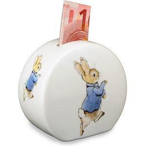 Beatrix Potter Porcelain Money Bank - Peter Rabbit