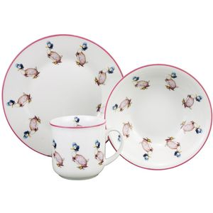 Jemima Puddle Duck Plate Bowl & Mug Breakfast Set