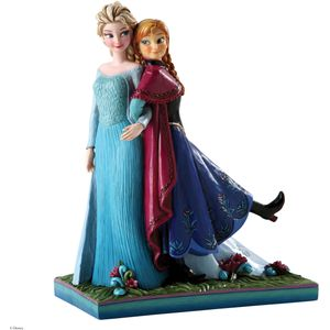 Disney Traditions Sisters Forever Elsa and Anna Figure
