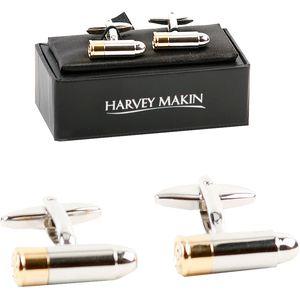 Harvey Makin Cufflinks - Bullet
