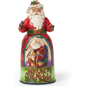 Heartwood Creek Santa Figurine Jolly Old St. Nicholas
